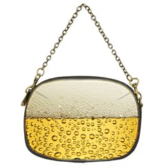 Water Bubbel Foam Yellow White Drink Chain Purses (two Sides)  by Alisyart