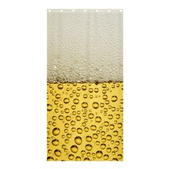 Water Bubbel Foam Yellow White Drink Shower Curtain 36  X 72  (stall)  by Alisyart