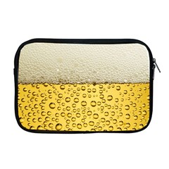 Water Bubbel Foam Yellow White Drink Apple Macbook Pro 17  Zipper Case