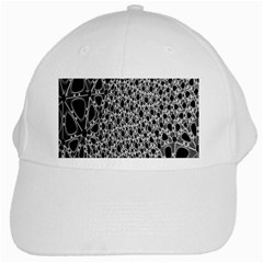 X Ray Rendering Hinges Structure Kinematics Circle Star Black Grey White Cap by Alisyart
