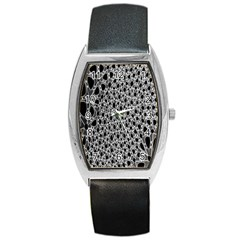 X Ray Rendering Hinges Structure Kinematics Circle Star Black Grey Barrel Style Metal Watch by Alisyart
