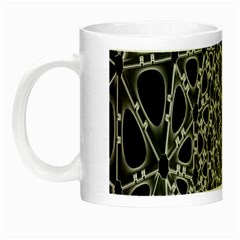 X Ray Rendering Hinges Structure Kinematics Circle Star Black Grey Night Luminous Mugs by Alisyart