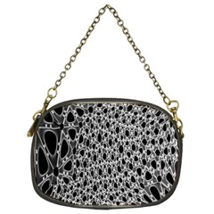 X Ray Rendering Hinges Structure Kinematics Circle Star Black Grey Chain Purses (two Sides)