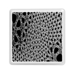 X Ray Rendering Hinges Structure Kinematics Circle Star Black Grey Memory Card Reader (square)