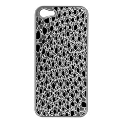 X Ray Rendering Hinges Structure Kinematics Circle Star Black Grey Apple Iphone 5 Case (silver) by Alisyart