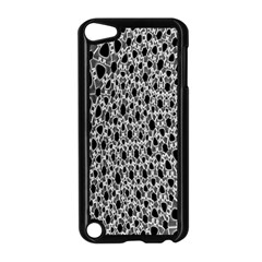 X Ray Rendering Hinges Structure Kinematics Circle Star Black Grey Apple Ipod Touch 5 Case (black)