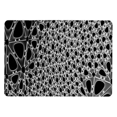 X Ray Rendering Hinges Structure Kinematics Circle Star Black Grey Samsung Galaxy Tab 10 1  P7500 Flip Case