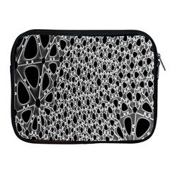 X Ray Rendering Hinges Structure Kinematics Circle Star Black Grey Apple Ipad 2/3/4 Zipper Cases