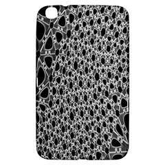 X Ray Rendering Hinges Structure Kinematics Circle Star Black Grey Samsung Galaxy Tab 3 (8 ) T3100 Hardshell Case  by Alisyart