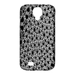 X Ray Rendering Hinges Structure Kinematics Circle Star Black Grey Samsung Galaxy S4 Classic Hardshell Case (pc+silicone)