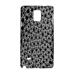 X Ray Rendering Hinges Structure Kinematics Circle Star Black Grey Samsung Galaxy Note 4 Hardshell Case by Alisyart