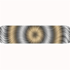 Prismatic Waves Gold Silver Large Bar Mats
