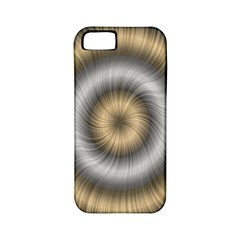 Prismatic Waves Gold Silver Apple Iphone 5 Classic Hardshell Case (pc+silicone) by Alisyart