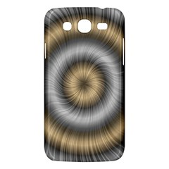 Prismatic Waves Gold Silver Samsung Galaxy Mega 5 8 I9152 Hardshell Case  by Alisyart