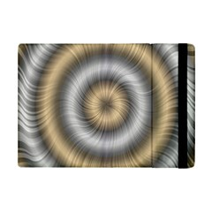 Prismatic Waves Gold Silver Ipad Mini 2 Flip Cases by Alisyart
