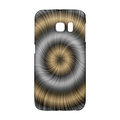 Prismatic Waves Gold Silver Galaxy S6 Edge