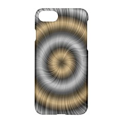 Prismatic Waves Gold Silver Apple Iphone 7 Hardshell Case