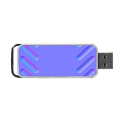 Leftroom Normal Purple Portable Usb Flash (one Side) by Alisyart