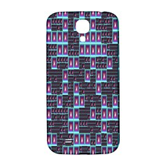 Techno Fractal Wallpaper Samsung Galaxy S4 I9500/i9505  Hardshell Back Case