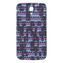 Techno Fractal Wallpaper Samsung Galaxy Mega I9200 Hardshell Back Case by Simbadda