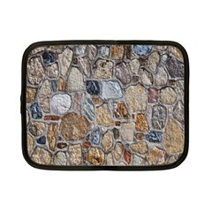Multi Color Stones Wall Texture Netbook Case (small)  by Simbadda