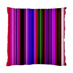 Fun Striped Background Design Pattern Standard Cushion Case (one Side) by Simbadda