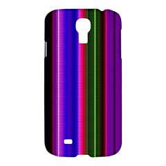 Fun Striped Background Design Pattern Samsung Galaxy S4 I9500/i9505 Hardshell Case by Simbadda
