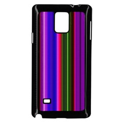 Fun Striped Background Design Pattern Samsung Galaxy Note 4 Case (black) by Simbadda