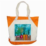 Mural Displaying Array Of Garden Vegetables Accent Tote Bag Front