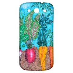 Mural Displaying Array Of Garden Vegetables Samsung Galaxy S3 S Iii Classic Hardshell Back Case by Simbadda