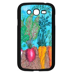 Mural Displaying Array Of Garden Vegetables Samsung Galaxy Grand Duos I9082 Case (black) by Simbadda