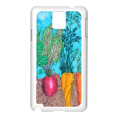 Mural Displaying Array Of Garden Vegetables Samsung Galaxy Note 3 N9005 Case (white)