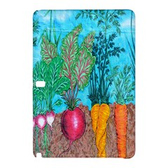 Mural Displaying Array Of Garden Vegetables Samsung Galaxy Tab Pro 10 1 Hardshell Case