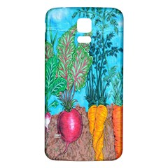 Mural Displaying Array Of Garden Vegetables Samsung Galaxy S5 Back Case (white)