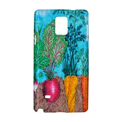 Mural Displaying Array Of Garden Vegetables Samsung Galaxy Note 4 Hardshell Case by Simbadda
