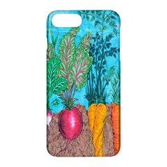 Mural Displaying Array Of Garden Vegetables Apple Iphone 7 Plus Hardshell Case by Simbadda