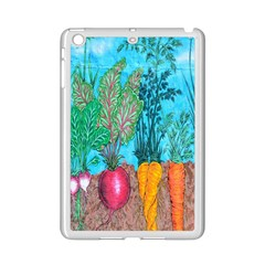 Mural Displaying Array Of Garden Vegetables Ipad Mini 2 Enamel Coated Cases