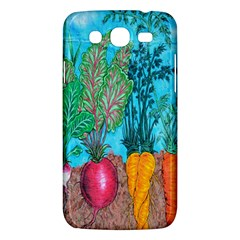 Mural Displaying Array Of Garden Vegetables Samsung Galaxy Mega 5 8 I9152 Hardshell Case  by Simbadda