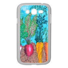 Mural Displaying Array Of Garden Vegetables Samsung Galaxy Grand Duos I9082 Case (white) by Simbadda