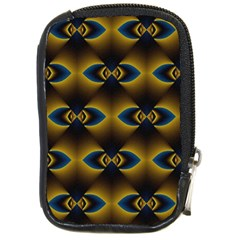 Fractal Multicolored Background Compact Camera Cases by Simbadda