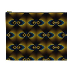 Fractal Multicolored Background Cosmetic Bag (xl) by Simbadda