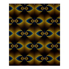 Fractal Multicolored Background Shower Curtain 60  X 72  (medium)  by Simbadda