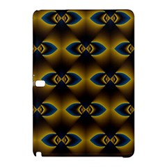 Fractal Multicolored Background Samsung Galaxy Tab Pro 10 1 Hardshell Case by Simbadda