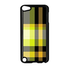 Tartan Pattern Background Fabric Design Apple Ipod Touch 5 Case (black) by Simbadda