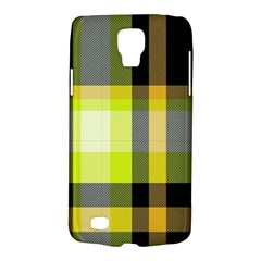 Tartan Pattern Background Fabric Design Galaxy S4 Active by Simbadda