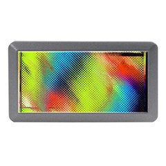 Punctulated Colorful Ground Noise Nervous Sorcery Sight Screen Pattern Memory Card Reader (mini) by Simbadda