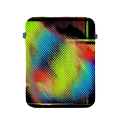 Punctulated Colorful Ground Noise Nervous Sorcery Sight Screen Pattern Apple Ipad 2/3/4 Protective Soft Cases