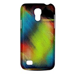 Punctulated Colorful Ground Noise Nervous Sorcery Sight Screen Pattern Galaxy S4 Mini by Simbadda
