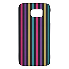 Stripes Colorful Multi Colored Bright Stripes Wallpaper Background Pattern Galaxy S6 by Simbadda