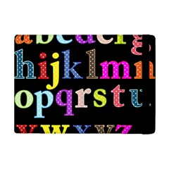 Alphabet Letters Colorful Polka Dots Letters In Lower Case Ipad Mini 2 Flip Cases by Simbadda